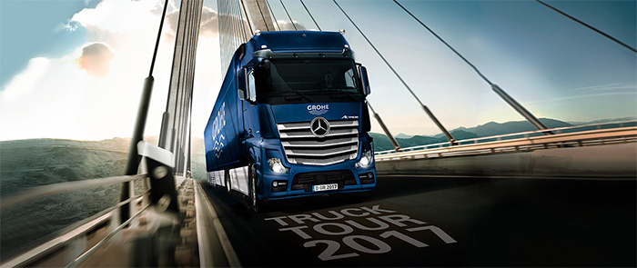GROHE Truck Tour 2017