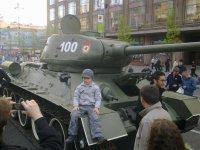 На параде Победы, по Крещатику пройдёт боевая техника времён войны