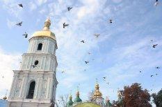 24 сентября в Киеве состоялся праздник по случаю тысячелетия со дня основания Софиевского Собора.