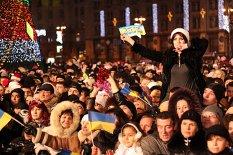 Новый год 2012 на Майдане Независимости- Море позитива и радости
