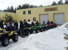 День Защитника Отечества компания РТМ Украина провела в снежном лесу