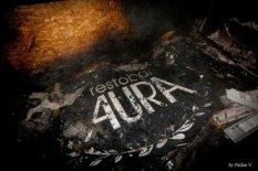 Не успев открыться после ребрендинга сгорел ресторан клуб АУРА