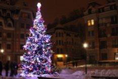 Открытие сезона Новогодних праздников в микрорайоне Воздвиженский