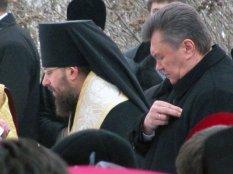 Благодарственный молебен на Владимирской горке 25.12.2012