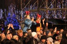 Новогодний концерт на Майдане Независимости 2013