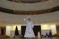 3 детских новогодних праздника в день проводятся в Украинском Доме