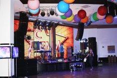 """Инсталляция в конференц-зале """"Mont Blanc"""" в Victoria Hotel Center (Донецк)"""
