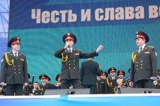 Парад 69-летия освобождения Украины