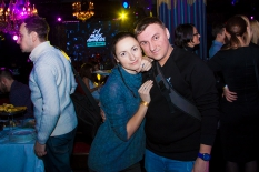 DeluxeSound инсталляция M1 Music Awards 2016: Инь-Ян. After Party  в Arena Club